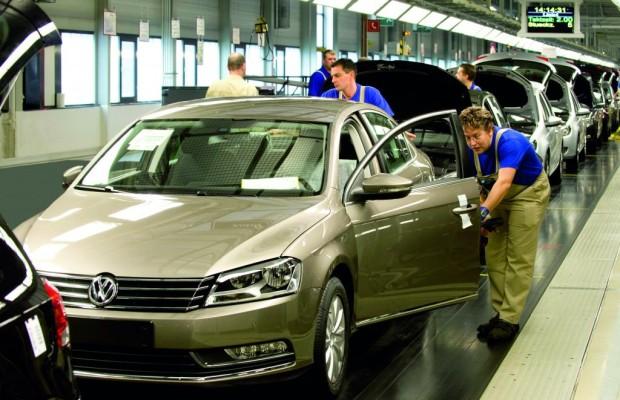 Volkswagen feiert in Sachsen Produktionsrekord
