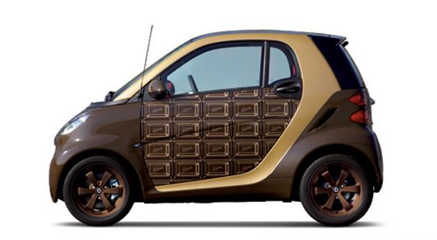 Zum Anbeißen schön - der Schoko-Smart ForTwo