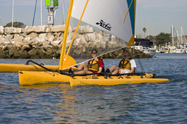 boot 2011: Catawest zeigt Hobie Mirage Tandem Island Trimaran