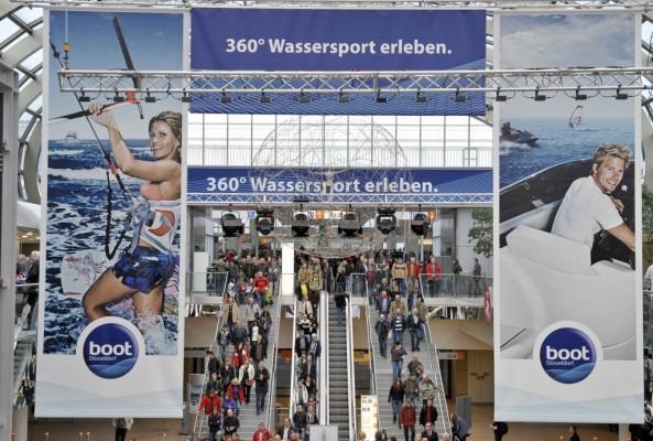 boot Düsseldorf 2011: Weltgrößte Yacht- und Wassersportmesse im Aufwind