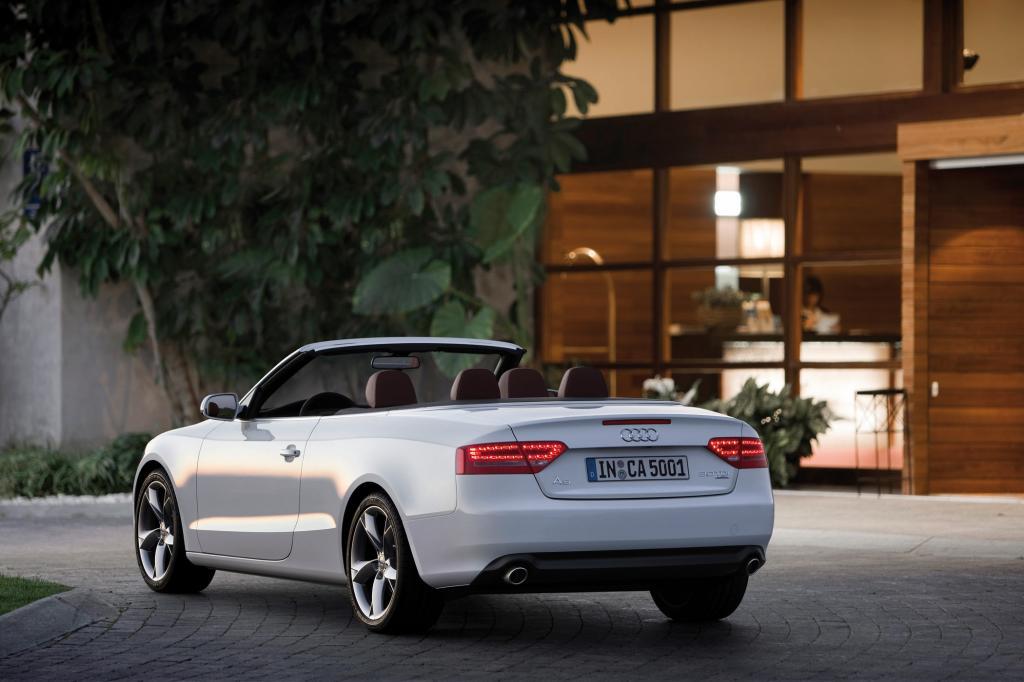 Auch das Audi Cabrio ist beliebt