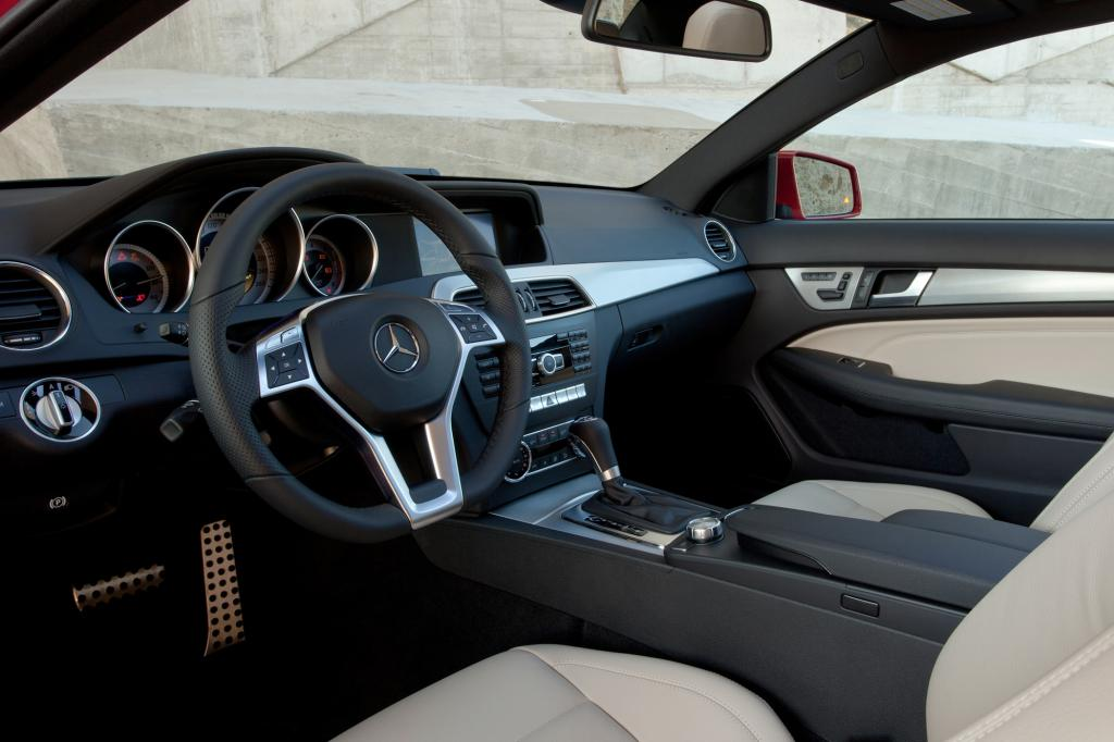 Auch von innen ein typischer Mercedes