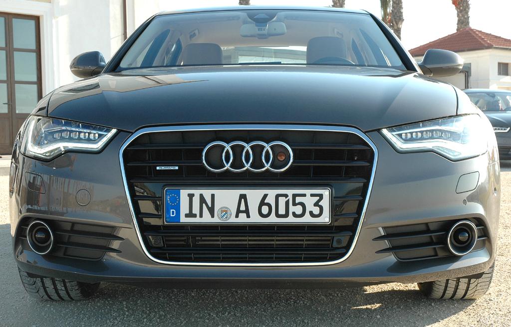 Audi A6: Der Kühlergrill wirkt nicht mehr ganz so wuchtig.