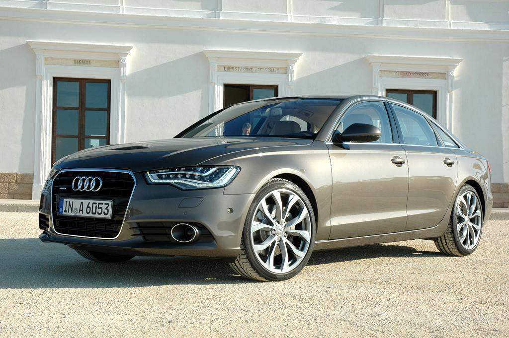 Audi A6, hier die Limousine in der Neuauflage.