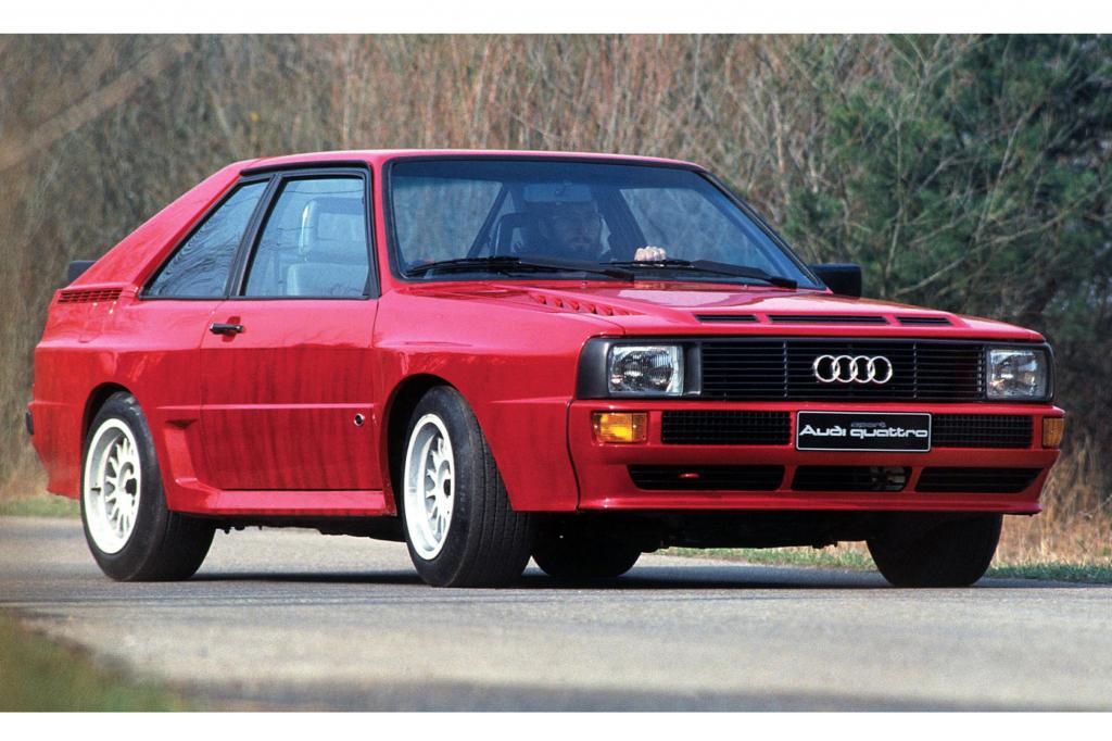 Audi Sport quattro, 1984