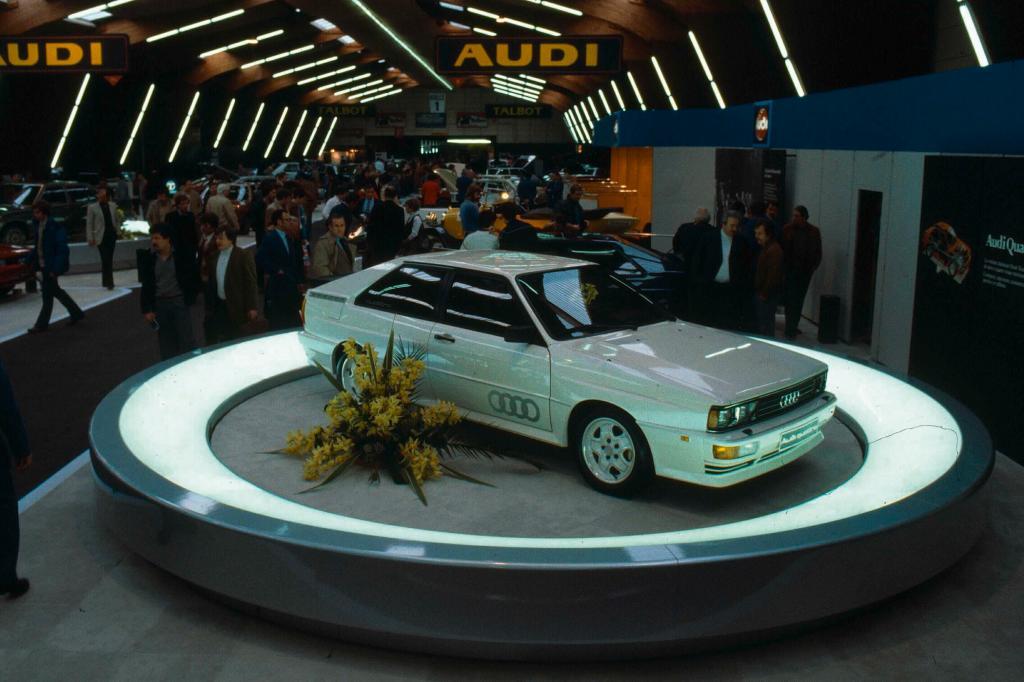 Audi quattro, 1980
