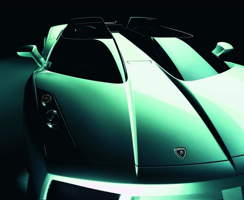 Audi zeigt zehn Designstudien von Lamborghini