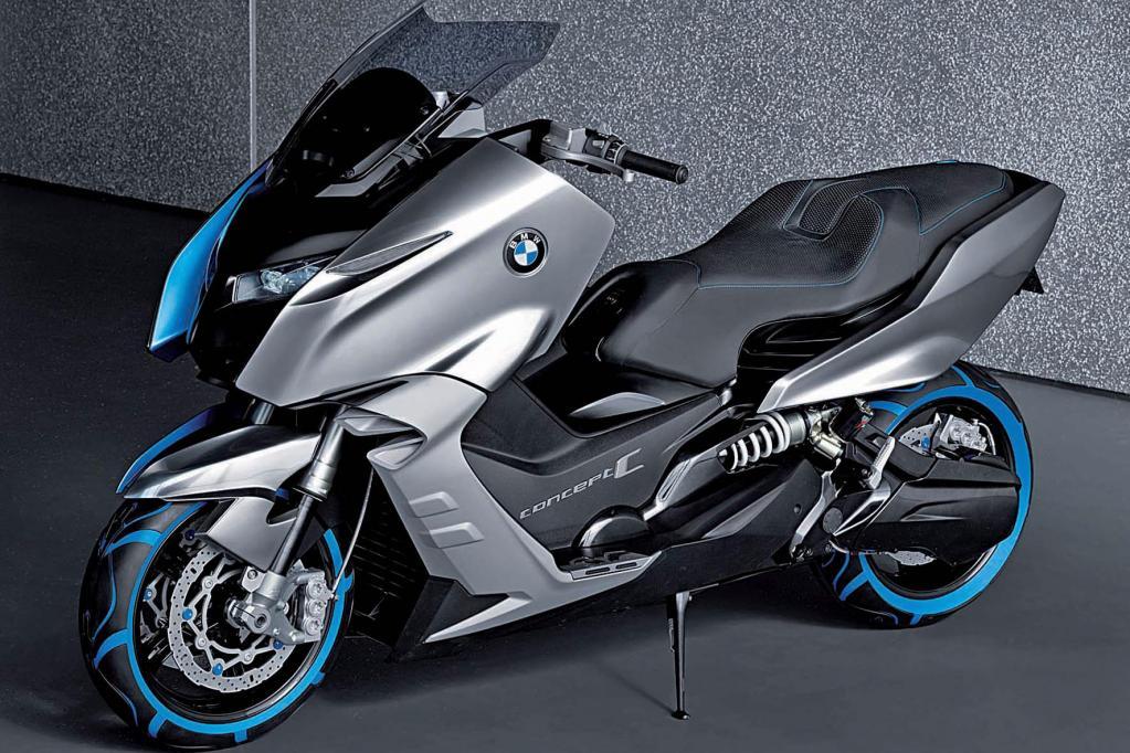 Auf der Messe Motorräder Dortmund zeigt BMW seine Studie