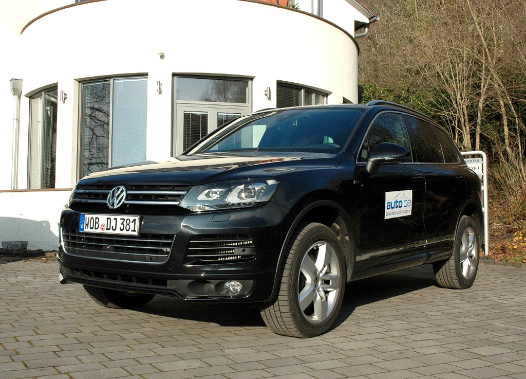 Auto im Alltag: VW Touareg Diesel