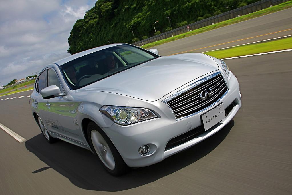 Basis für die eventuelle Luxuslimousine unter Mitsubishi-Markenzeichen könnte der Infiniti M sein.