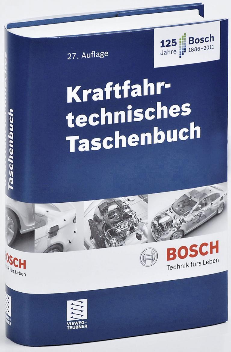 Bosch überarbeitet Kraftfahrtechnisches Taschenbuch