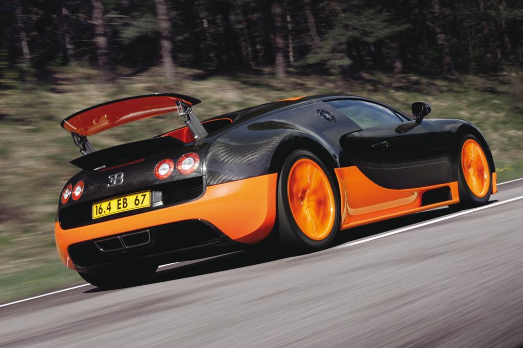 Bugatti Veyron 16.4 Super Sport, 2010