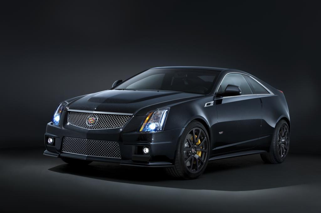 Cadillac legt CTS-V als Black Diamond Edition auf