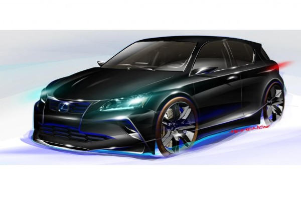 Chicaco: Lexus Five Axis Project CT - Finsterer Hybrid