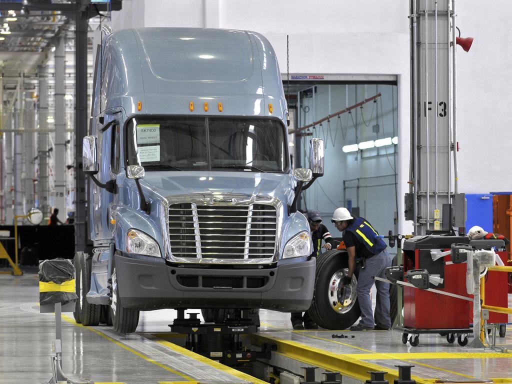 Daimler Trucks North America steigert Produktion
