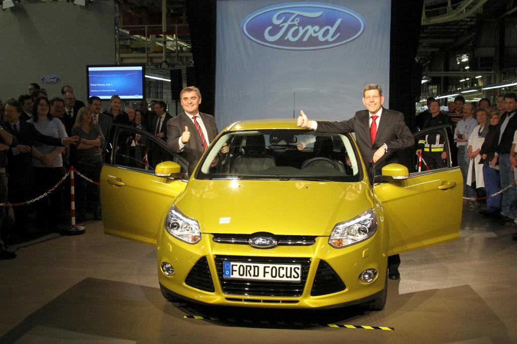 Daumen hoch für den Focus: die Neuauflage des Kompaktklässlers soll auch in Deutschland eines der Absatz-Zugpferde für Ford sein.