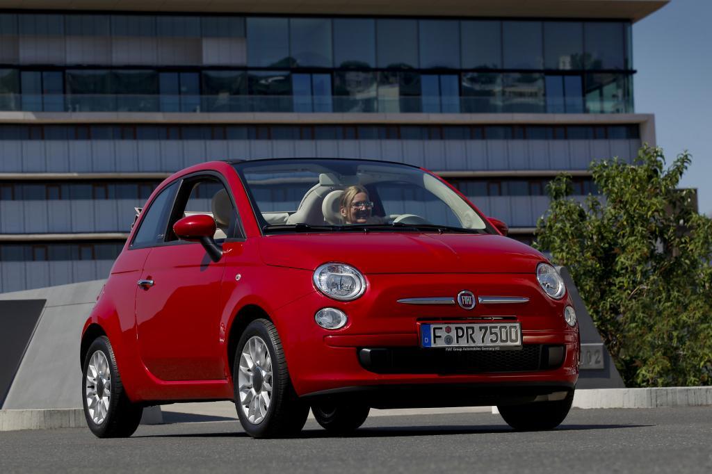 Der Fiat 500 hat seine Rundungen an den richtigen Stellen