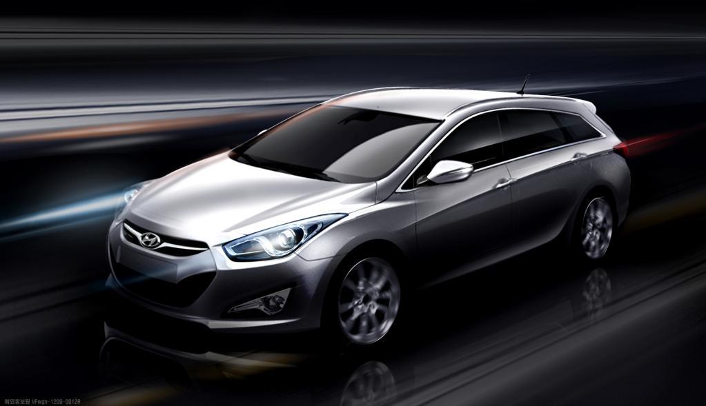 Der Hyundai i40 cW ist ein Mittelklassekombi