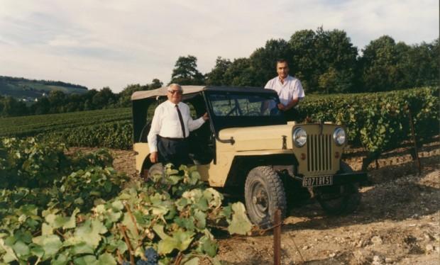 Der Winzer und sein Jeep
