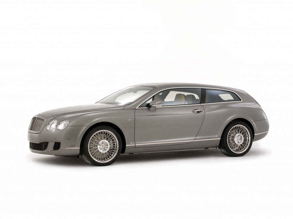 Der große Wagen: Touring Superleggera Bentley Continental Flying Star