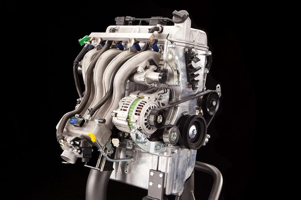 Der neue MultiTech-Benzinmotor des Piaggio Porter.