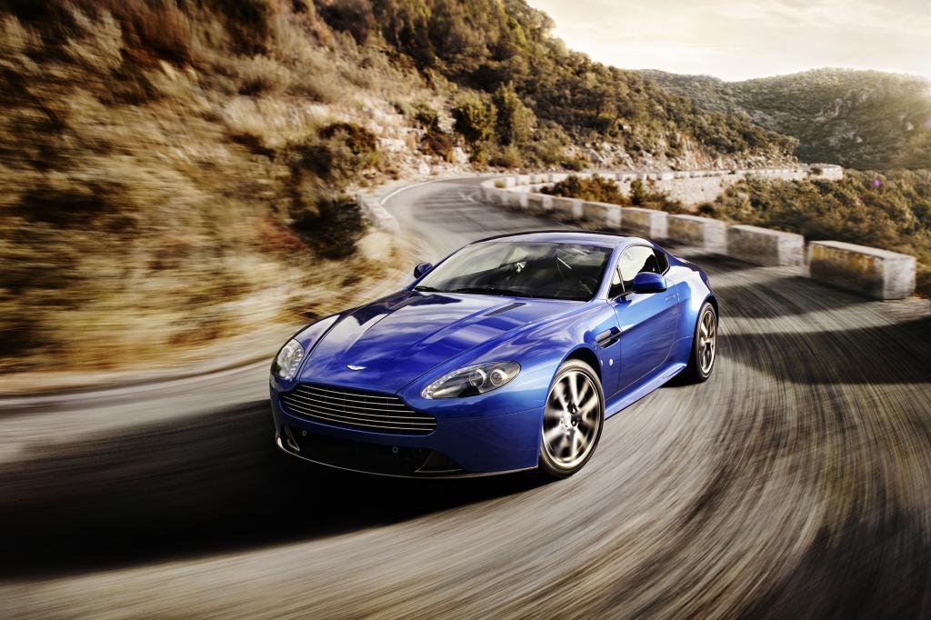 Der schnellste unter den V8 Vantages ist der neue S