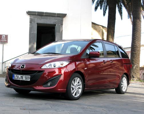 Deutlich effizienter: Mazda5-Kompaktvan wieder als Diesel bei den Händlern