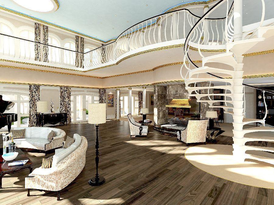 Die Luxus-Suite des Eigentümers, Bild: Yacht Island Design