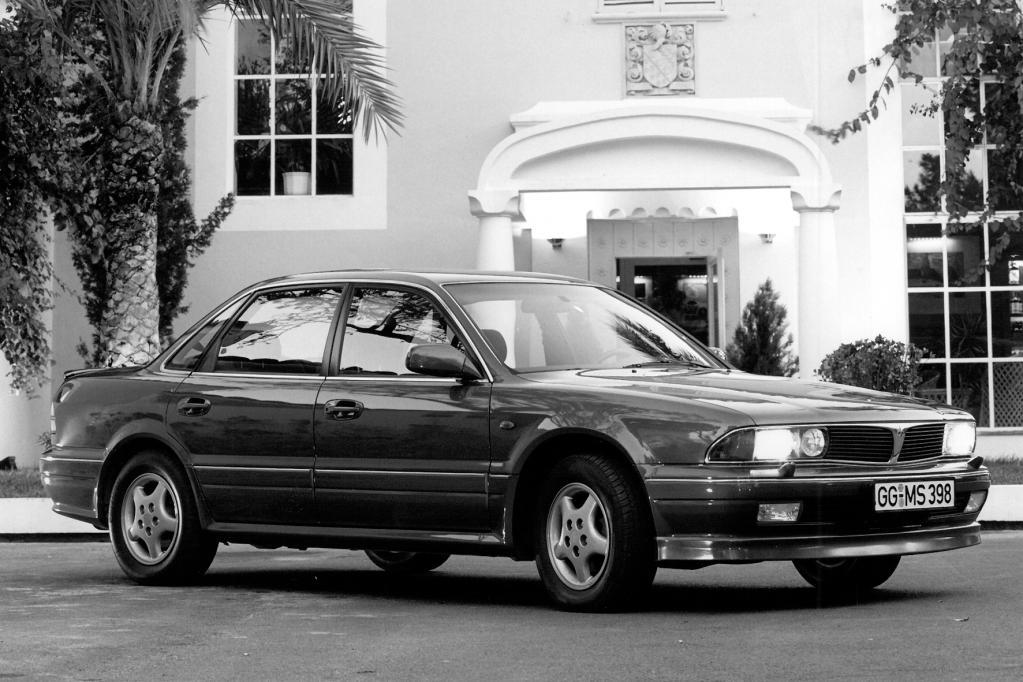 Die Mitsubishi-Limousine Sigma war die letzte ihrer Art. Gebaut worden ist sie von 1991 bis 1996. In Deutschland sind in diesem Zeitraum insgesamt gut 10 000 Autos dieses Typs zugelassen worden.