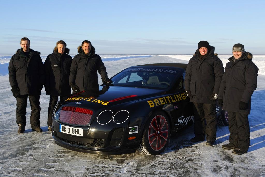 Die Rekord-Crew von Bentley