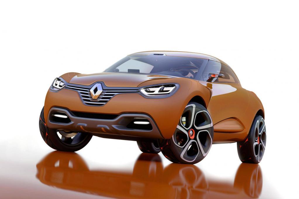 Die Studie Renault Captur soll Coupé, Roadster und SUV zugleich sein.