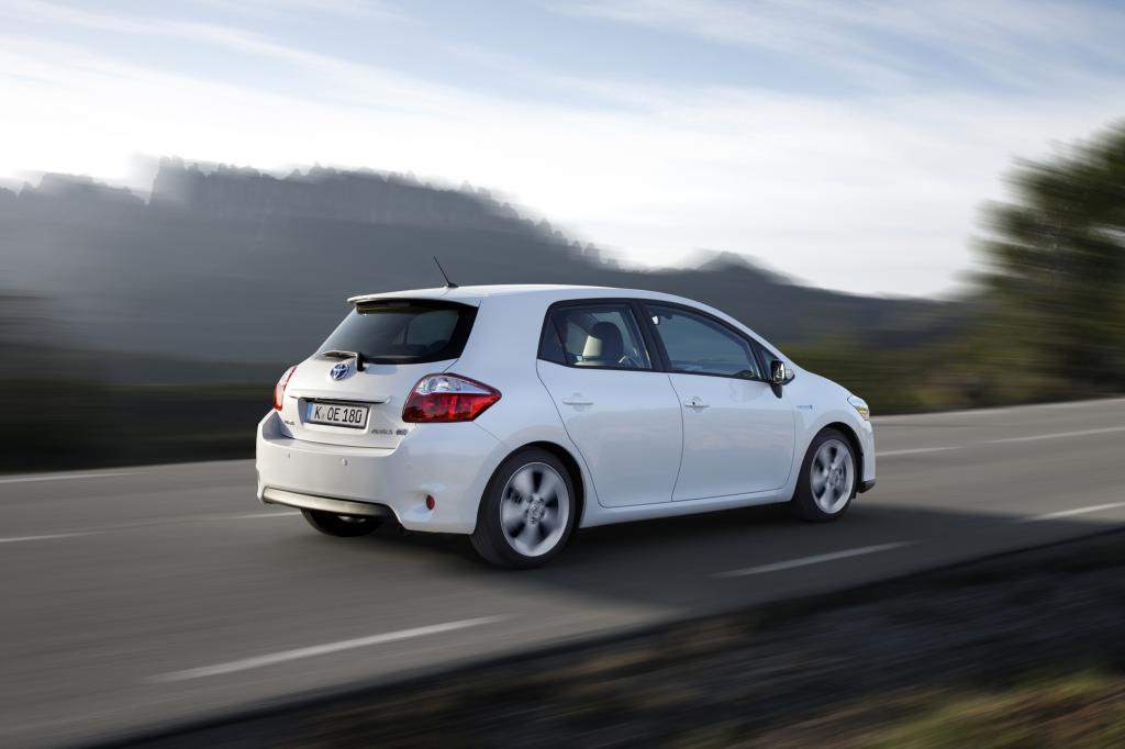 Die Technik stammt vom Toyota Prius