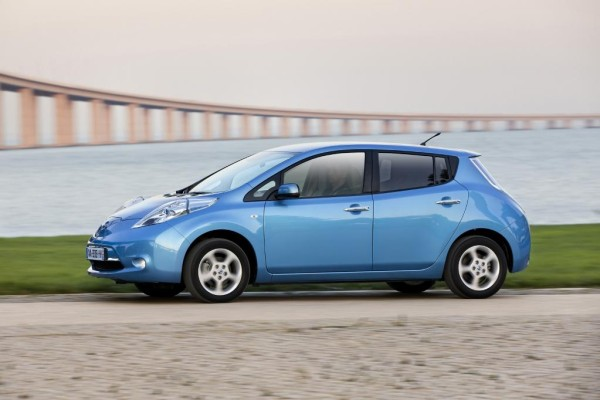 Die ersten Nissan Leaf kommen nach Europa