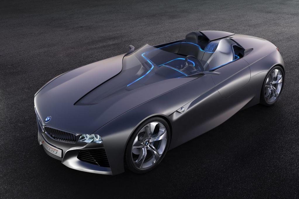 Die futuristische Studie eines zweisitzigen Roadsters zeigt BMW in Genf.