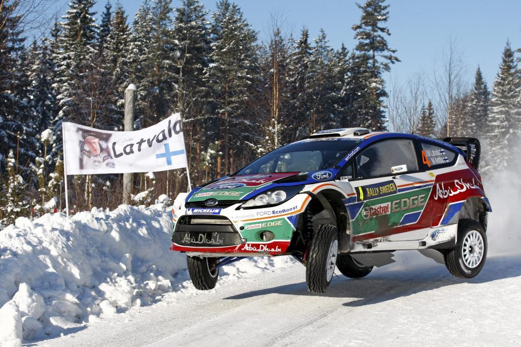 Dreifachsieg für Ford Focus RS WRC beim Rallye-Auftakt