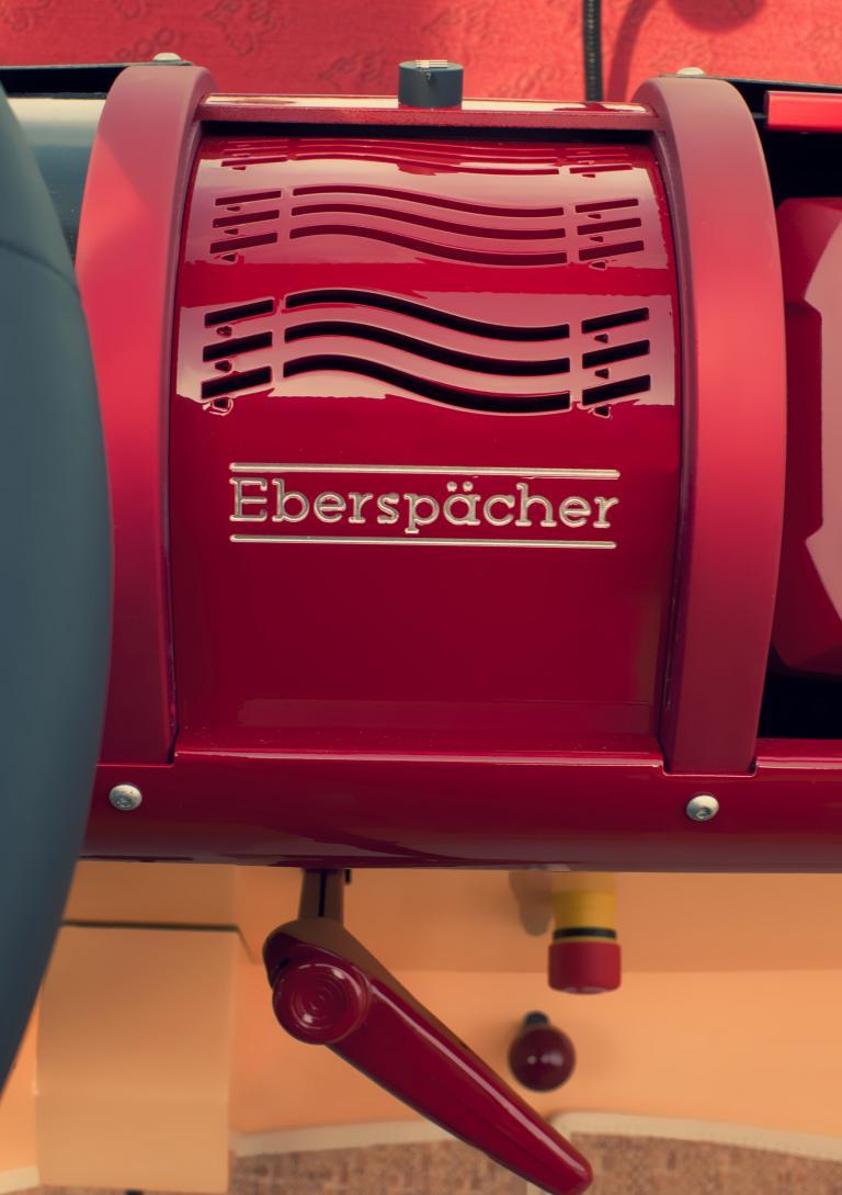 Eberspächer hat einen PTC-Heizer samt Ausströmer als Prototypen entwickelt, der die fehlende Abwärme eines Verbrennungsmotors des Bamboo von Rinspeed ausgleicht.