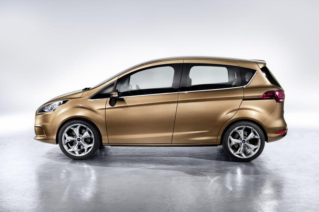 Ein Kompaktvan für alle: Ford B-Max