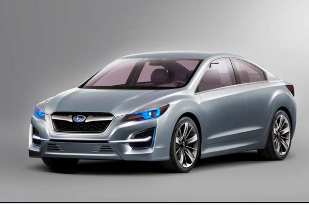 Ein Konzeptauto des nächsten Subaru Impreza wird ebenfalls in Genf gezeigt