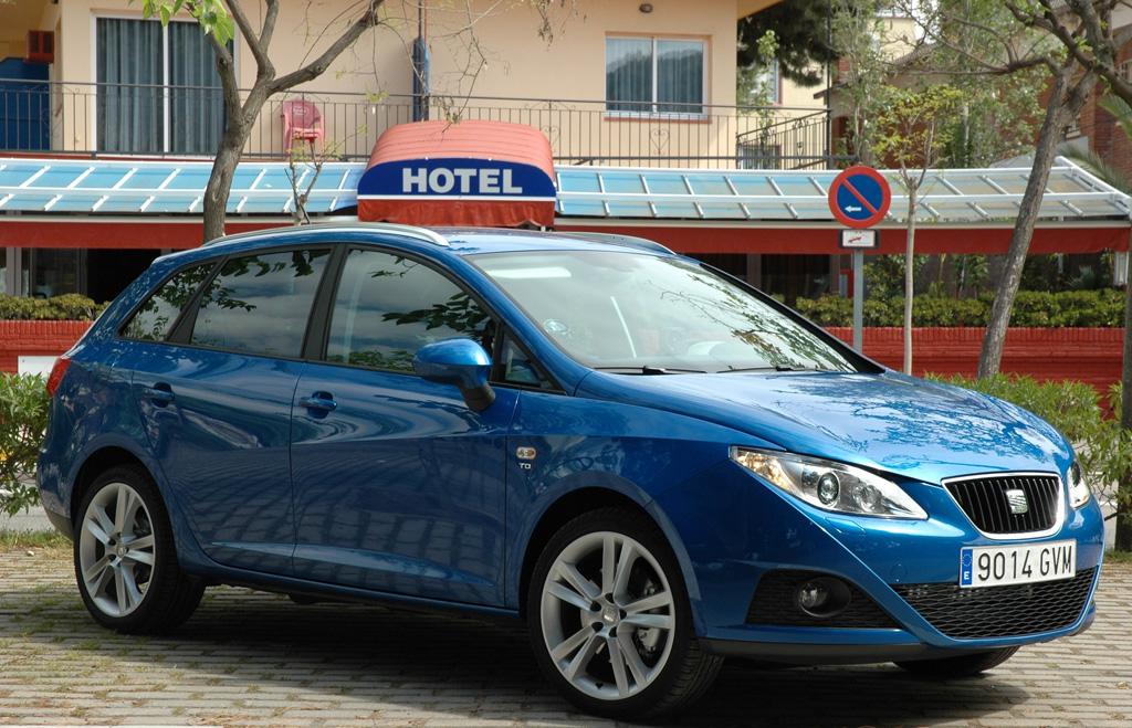Erfolgreiches Einstiegsmodell: Seat Ibiza, hier als Kombi ST.