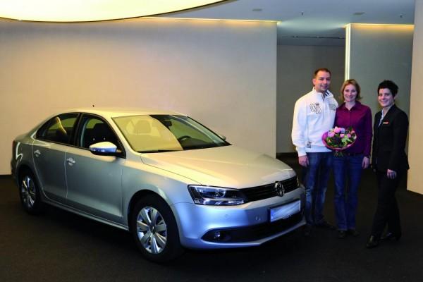 Erster Volkswagen Jetta ausgeliefert