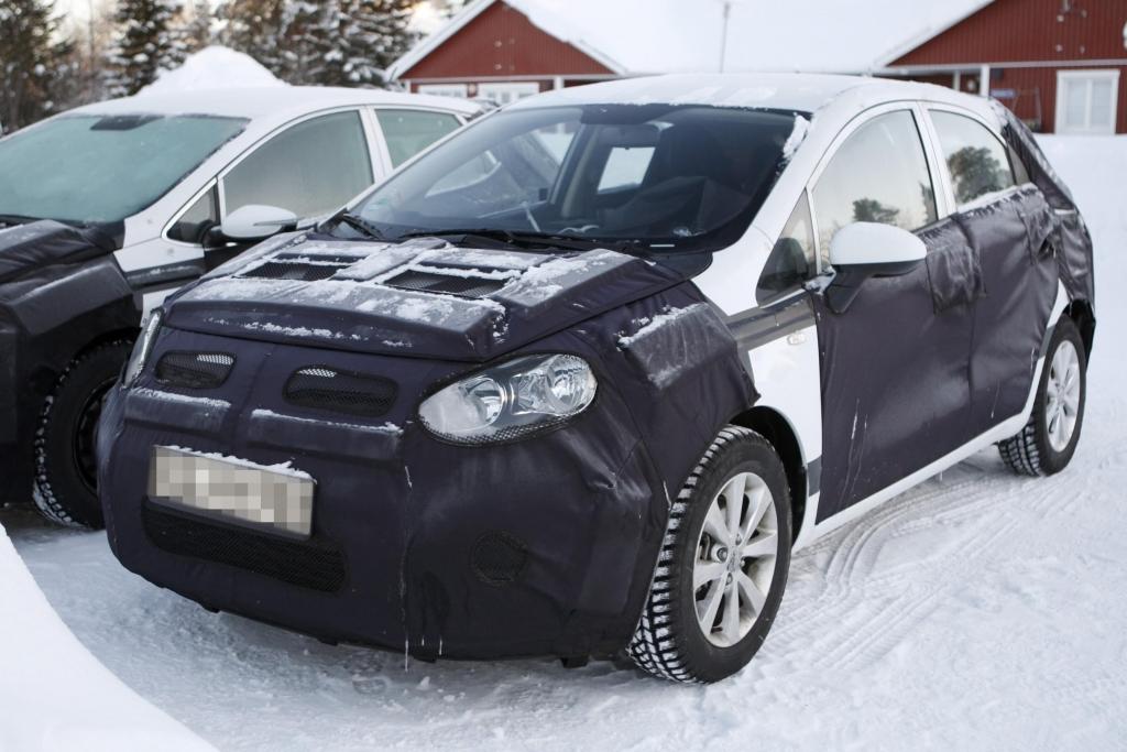 Erwischt: Kia Rio die Dritte – ein Genf(ling) im Schnee