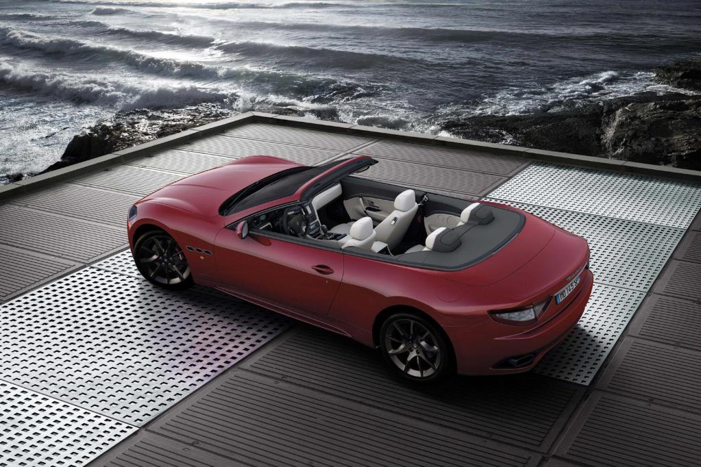 Exklusive Ausstattung und schickes Design zeichnen den neuen Maserati aus.
