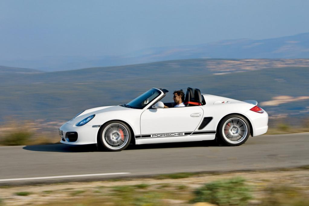 Fahrbericht Porsche Boxster Spyder: Ich will Spaß, ich geb Gas