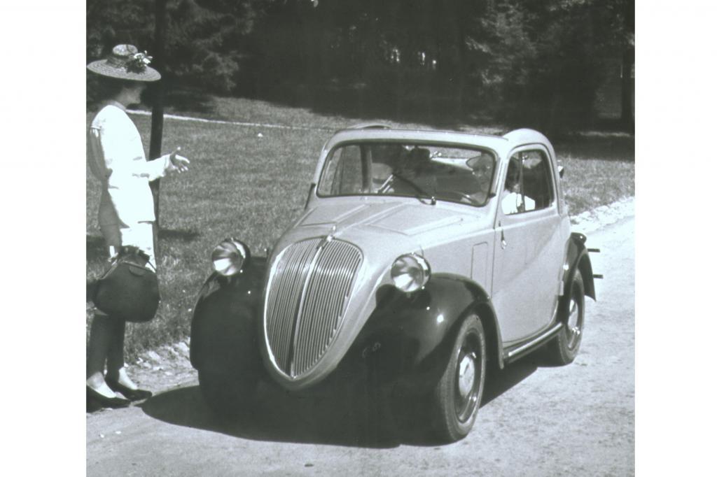 Fiat 500 B Topolino 1936 bis 1949