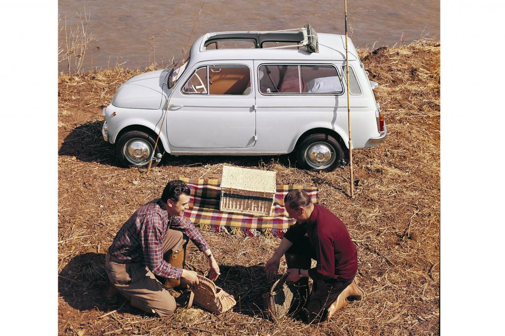 Fiat 500 Giardiniera, 1960