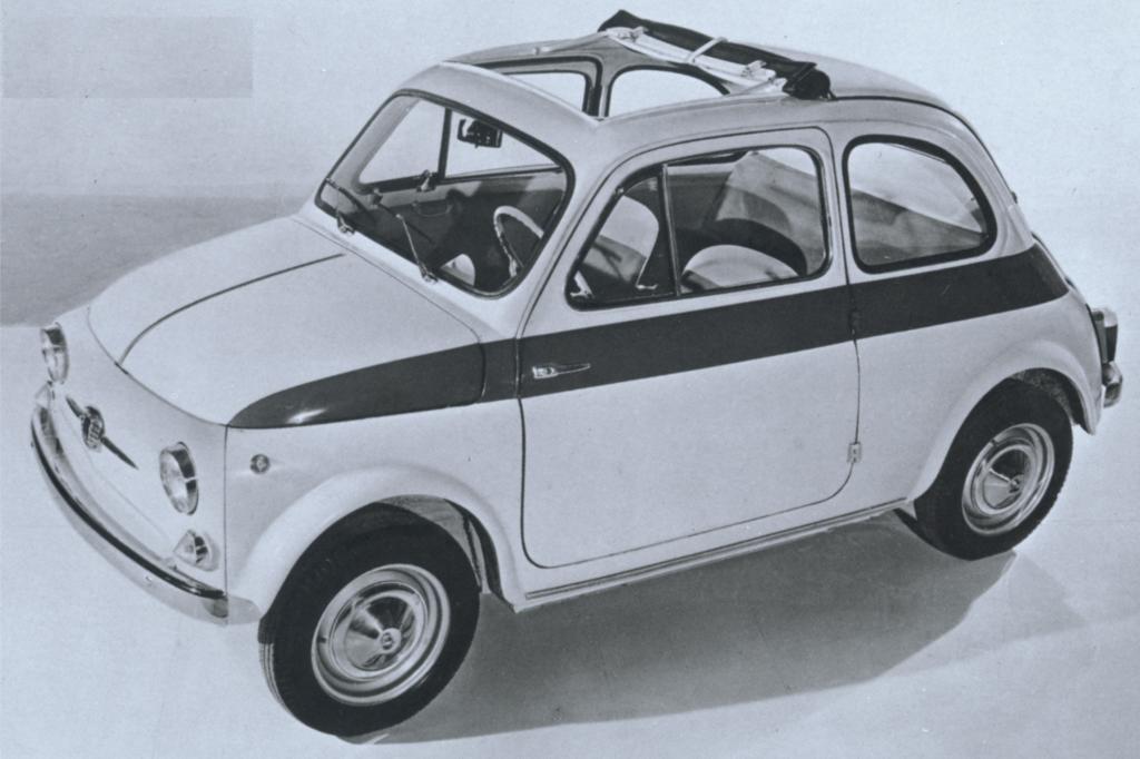 Fiat 500 Sport 1958 bis 1960