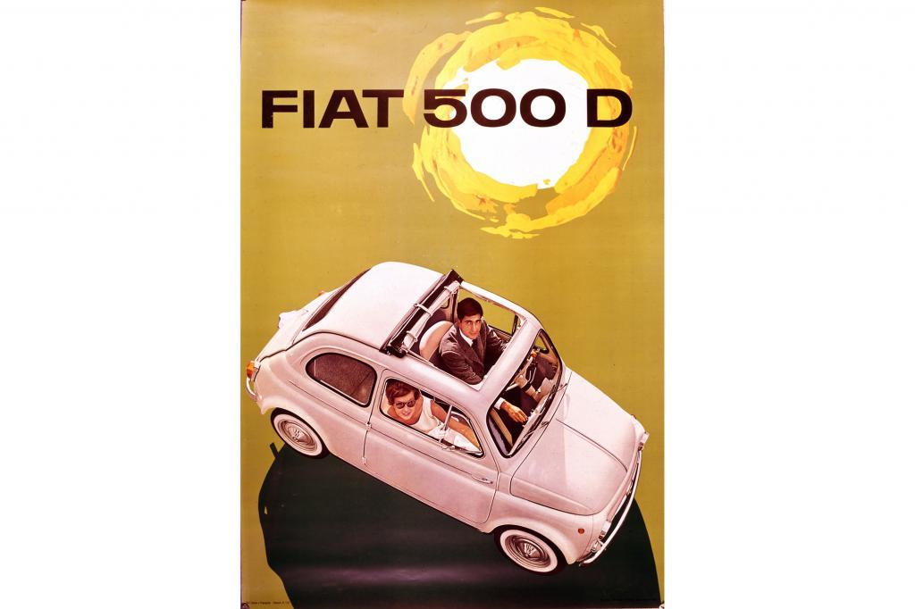 Fiat 500D, 1960