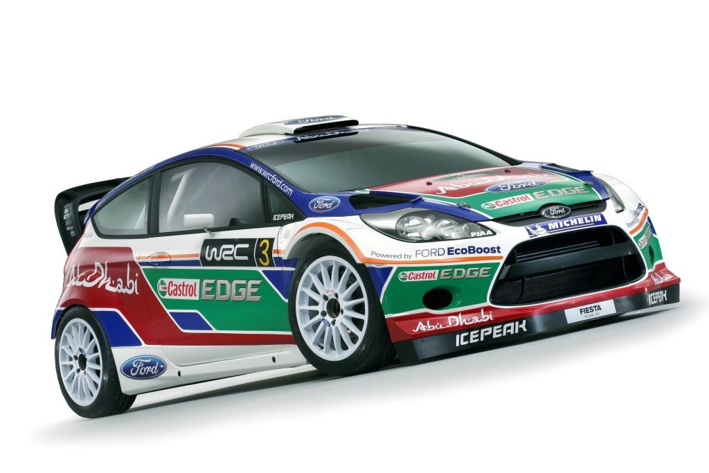 Ford Fiesta RS WRC gibt sein Rallyedebüt