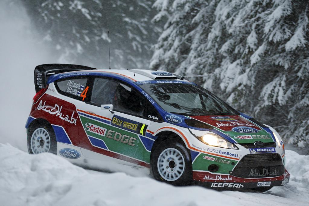 Ford Focus RS WRC von Jari-Matti Latvala und Miikka Anttila .
