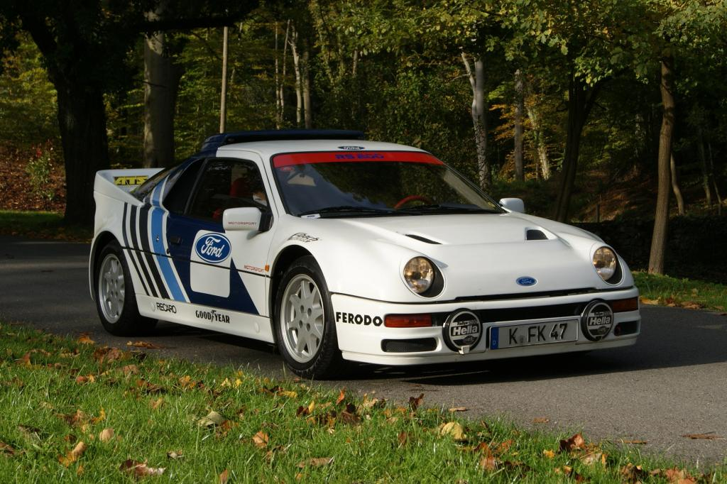 Ford RS200, 1985